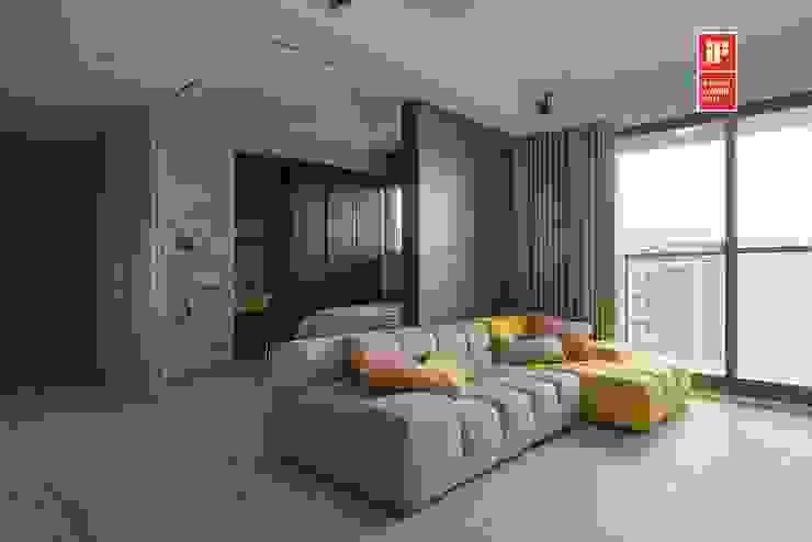 Modern walls & floors by 禾光室內裝修設計 ─ Her Guang Design Modern