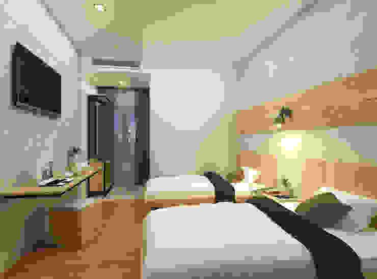 THE JOURNEY HOTEL Hotel Gaya Industrial Oleh ARSATAMA ARCHITECT Industrial