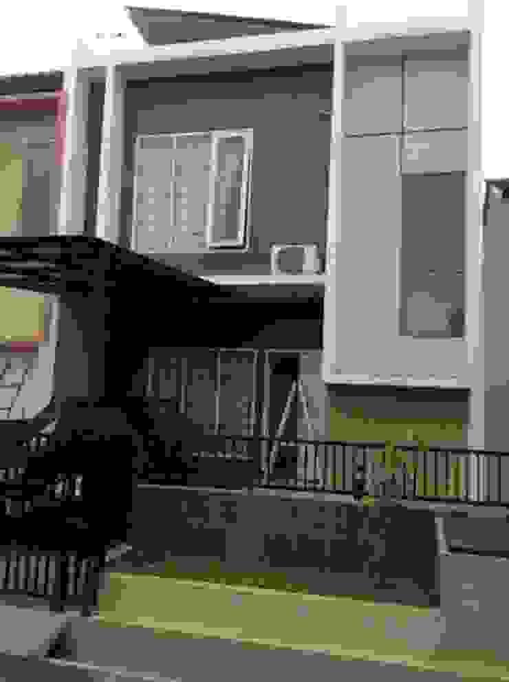 The project built Dinding & Lantai Modern Oleh Kahuripan Architect Modern Batu Bata