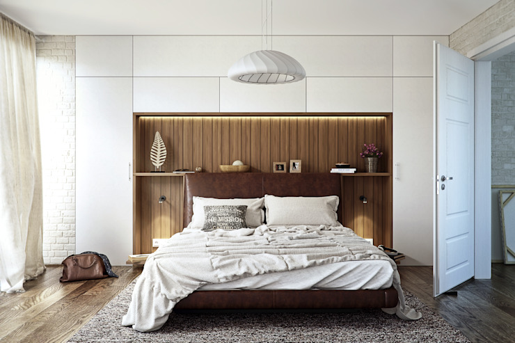 Modern Bedroom Design Modern style bedroom by 7Storeys Modern