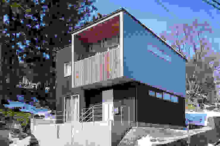 HouseK2 一級建築士事務所 ima建築設計室 北欧風 家 金属 メタリック/シルバー