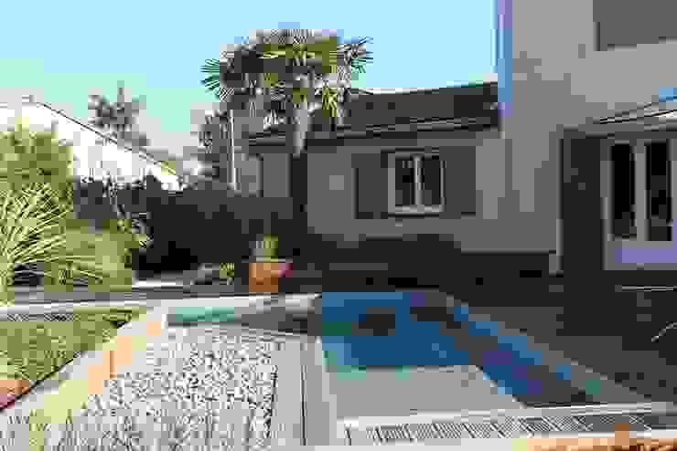 Création d'un jardin contemporain sur Beauzelle KAEL Createur de jardins