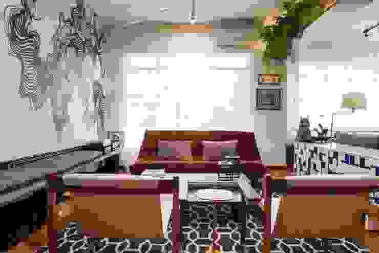 Marcella Loeb Modern Living Room Wood