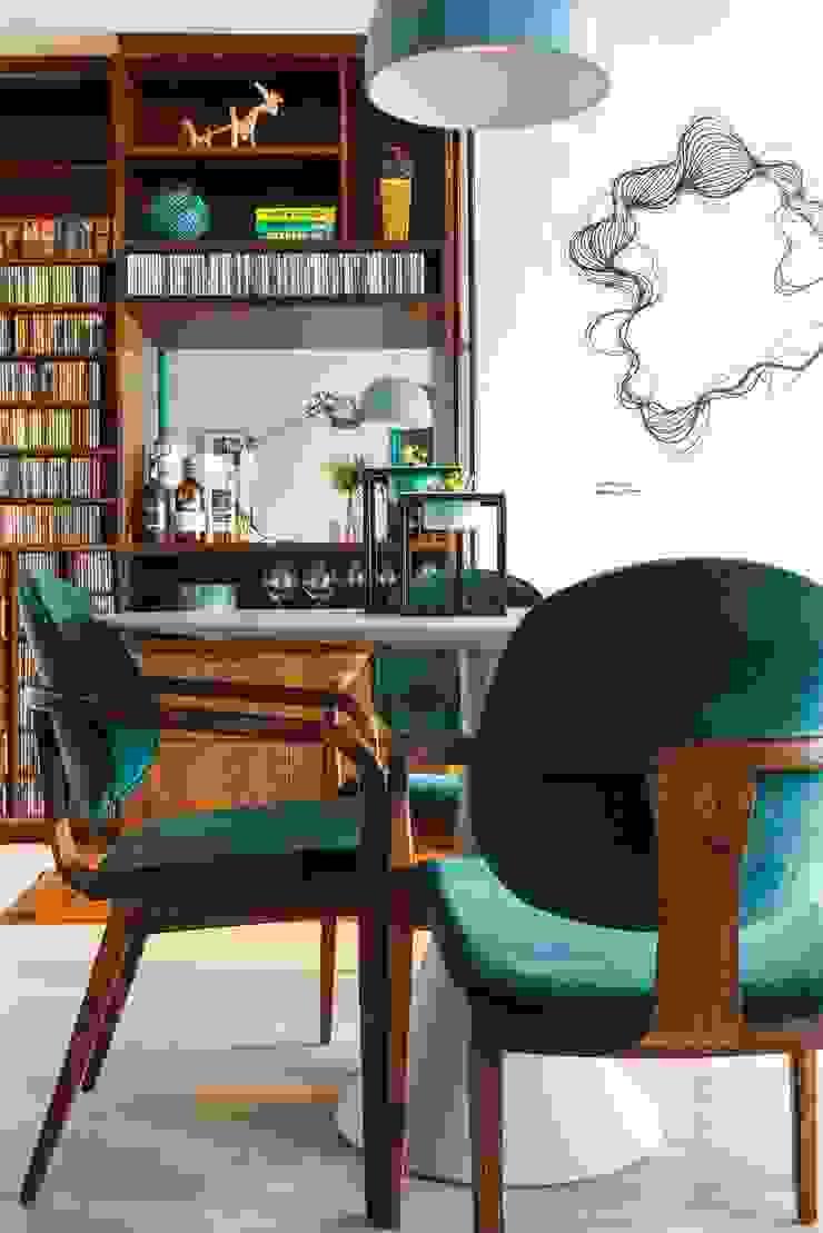 Apartamento Frei Caneca Marcella Loeb Salas de jantar modernas