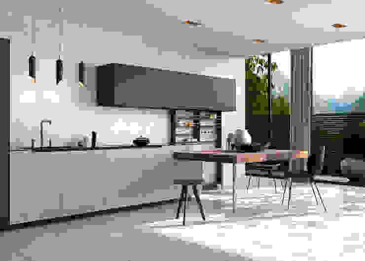 Delice Blanco 29x89 Rectificado Cocinas de estilo moderno de Azulev Moderno Cerámico