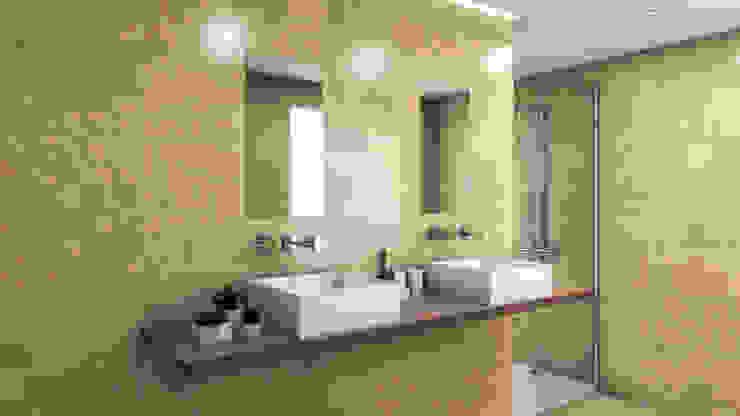 Delice Marfil 29x89 Baños de estilo moderno de Azulev Moderno Cerámico