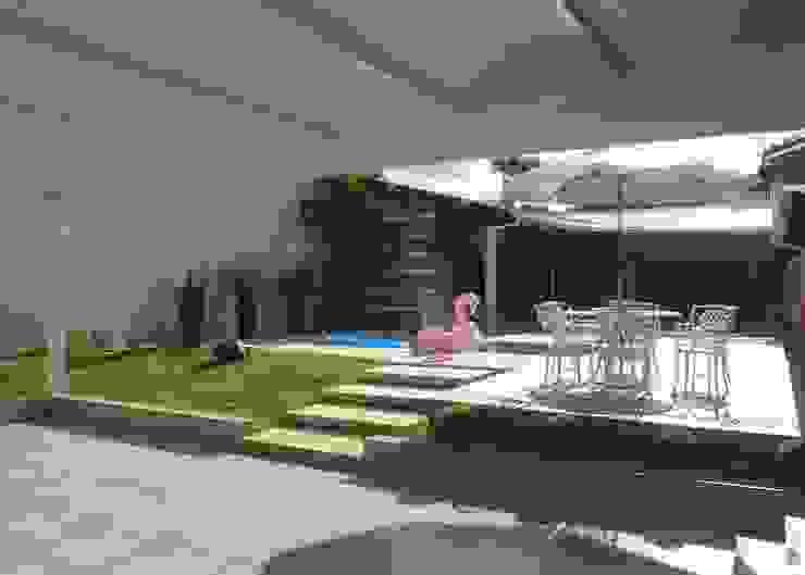 Garagem Garagens e edículas modernas por Fávero Arquitetura + Interiores Moderno