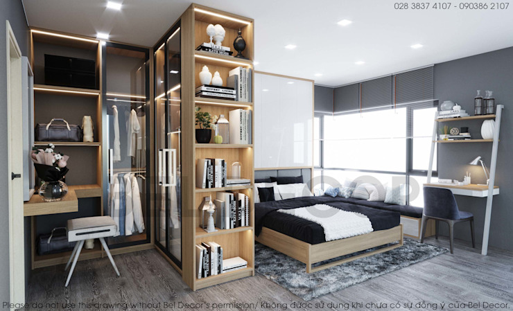 Project: HO1805 Modern Apartment/ Bel Decor bởi Bel Decor