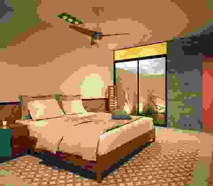 Casa 1+1 Dormitorios modernos de Sitma Arquitectura Moderno Concreto