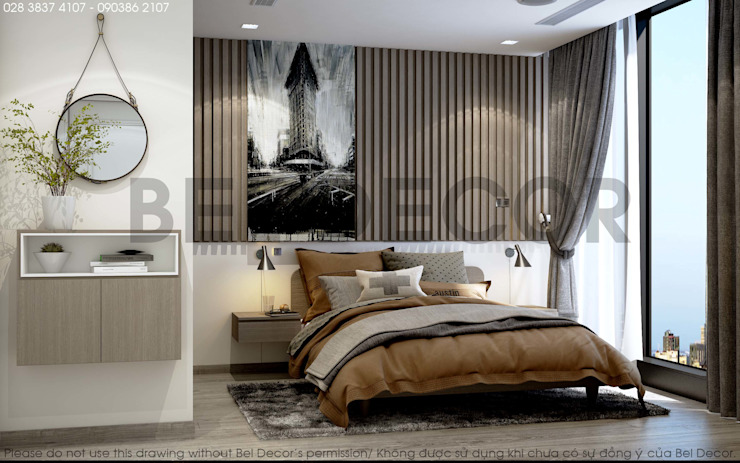 Project: HO17130 Modern Apartment/ Bel Decor bởi Bel Decor