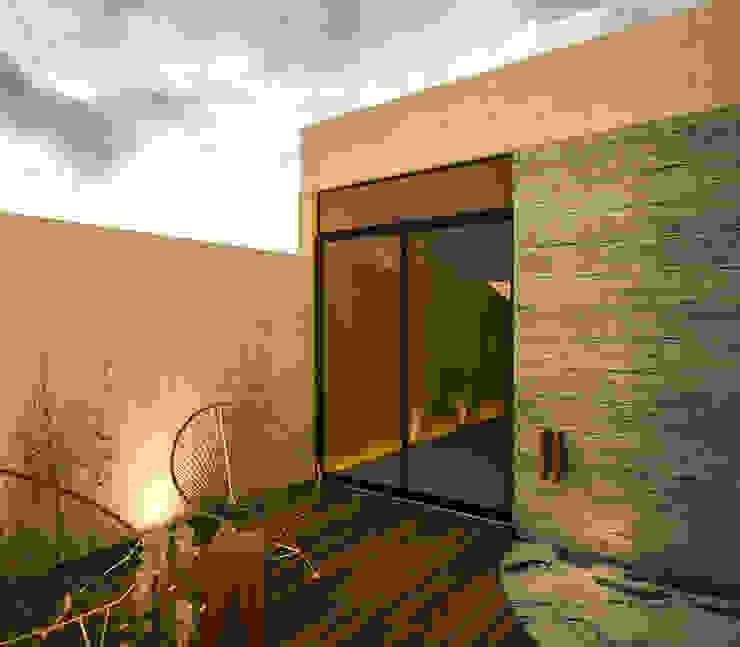 Casa 1+1 Dormitorios modernos de Sitma Arquitectura Moderno