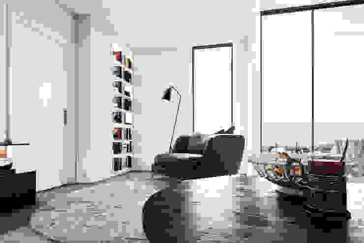 Living Space Minimalist living room by 7Storeys Minimalist