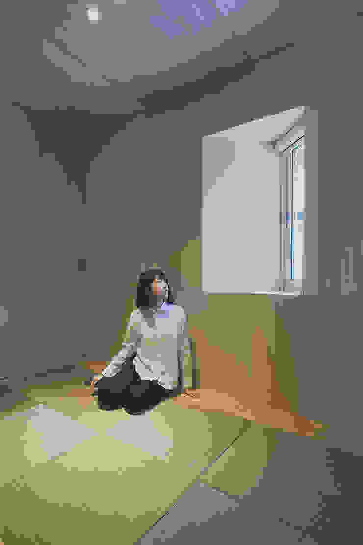一級建築士事務所 Atelier Casa minimalist style media rooms
