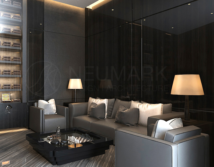 NEUMARK minimalist style media rooms