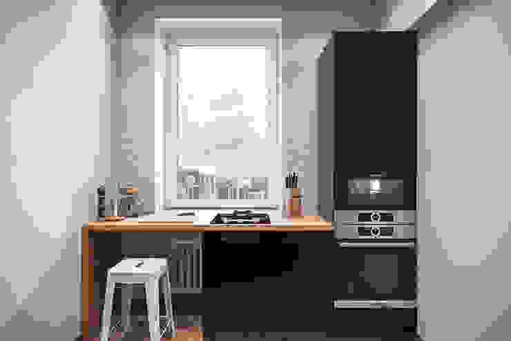 Cuisine scandinave par Студия архитектуры и дизайна Дарьи Ельниковой Scandinave