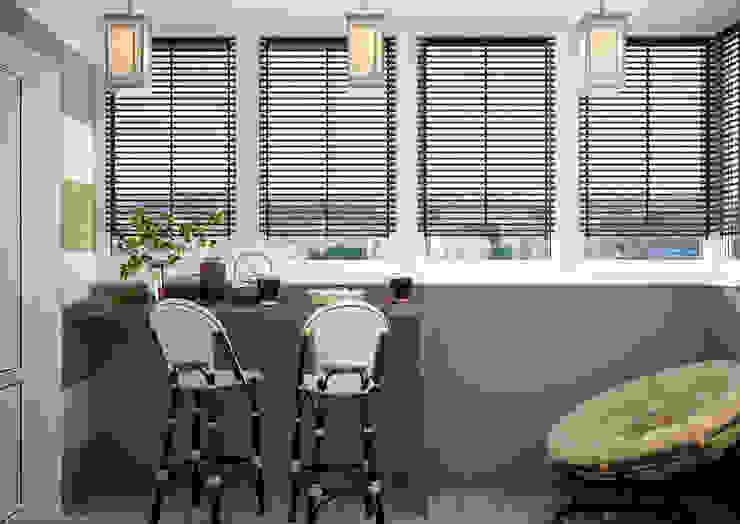 Modern kitchen by Студия интерьерного дизайна happy.design Modern