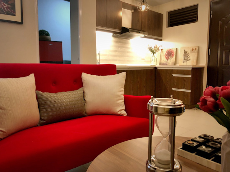 SNS Lush Designs and Home Decor Consultancy Living room White