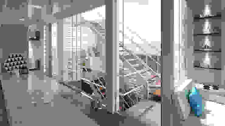 Casa de Playa – Mejía de Inception Architects Moderno Madera Acabado en madera