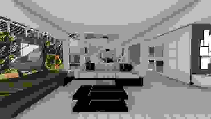 Sala principal Salas de estilo moderno de Vida Arquitectura Moderno Mármol