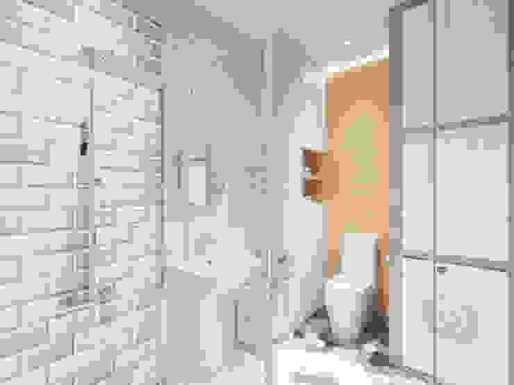Четырехкомнатная квартира в ЖК 4 сезона Ванная в классическом стиле от Гузалия Шамсутдинова | KUB STUDIO Классический