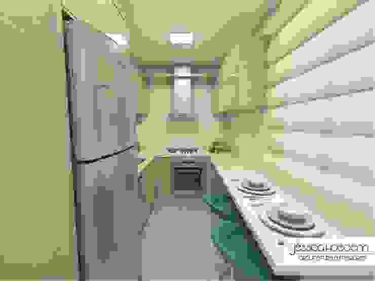 Cozinha Arquiteta Jéssica Hoegenn - Arquitetura de Interiores Cozinhas modernas
