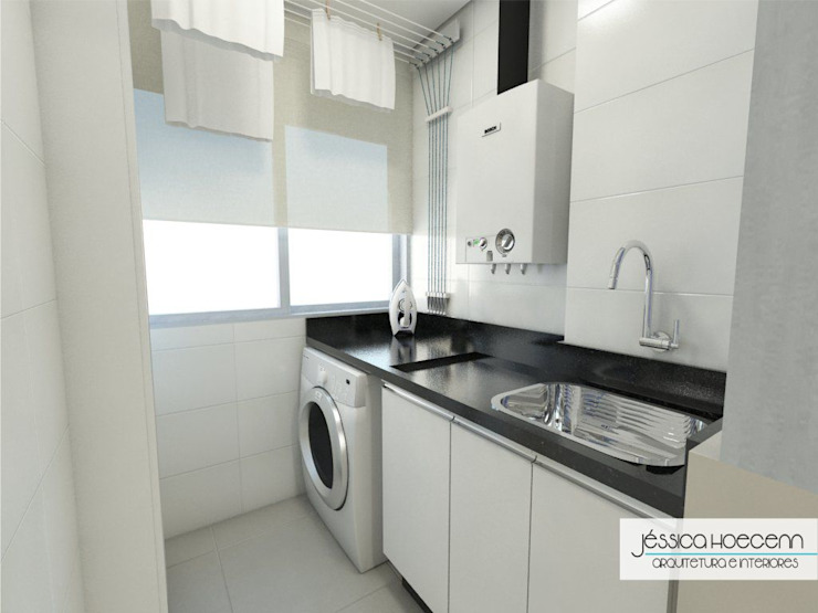 Modern kitchen by Arquiteta Jéssica Hoegenn - Arquitetura de Interiores Modern