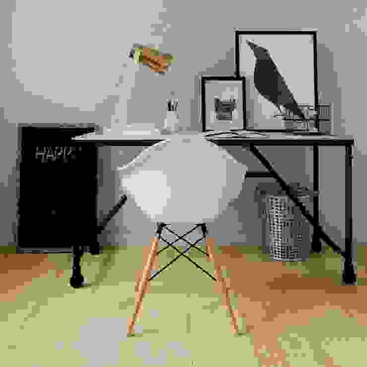 Renders de Interiores Oficinas y bibliotecas de estilo moderno de Valantia Studio Moderno