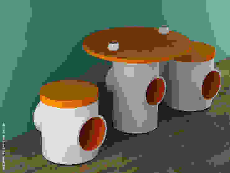 Tstools + T coffee table: modern  by Preetham  Interior Designer,Modern
