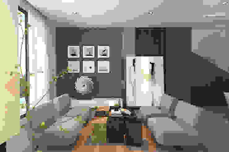 Lounge area Enrich Artlife & Interior Design Sdn Bhd Living room