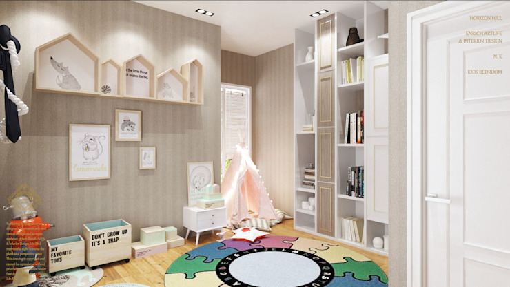 Kids bedroom Enrich Artlife & Interior Design Sdn Bhd Nursery/kid's room