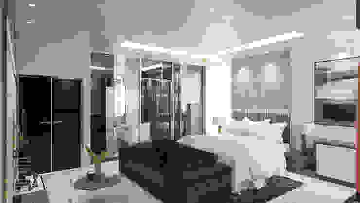 Master bedroom Modern style bedroom by Enrich Artlife & Interior Design Sdn Bhd Modern