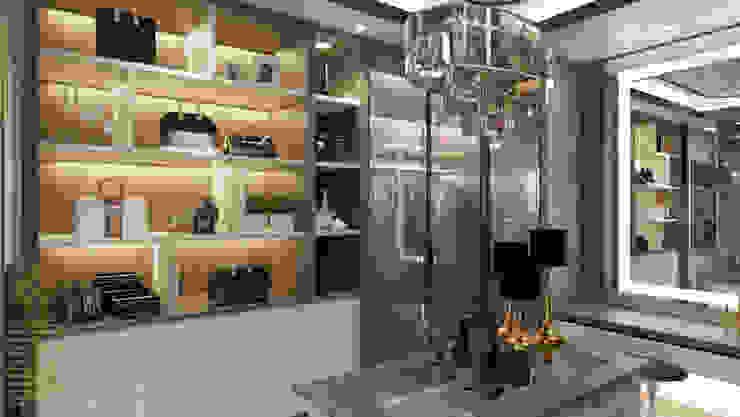 Walk-in wardrobe Modern style dressing rooms by Enrich Artlife & Interior Design Sdn Bhd Modern