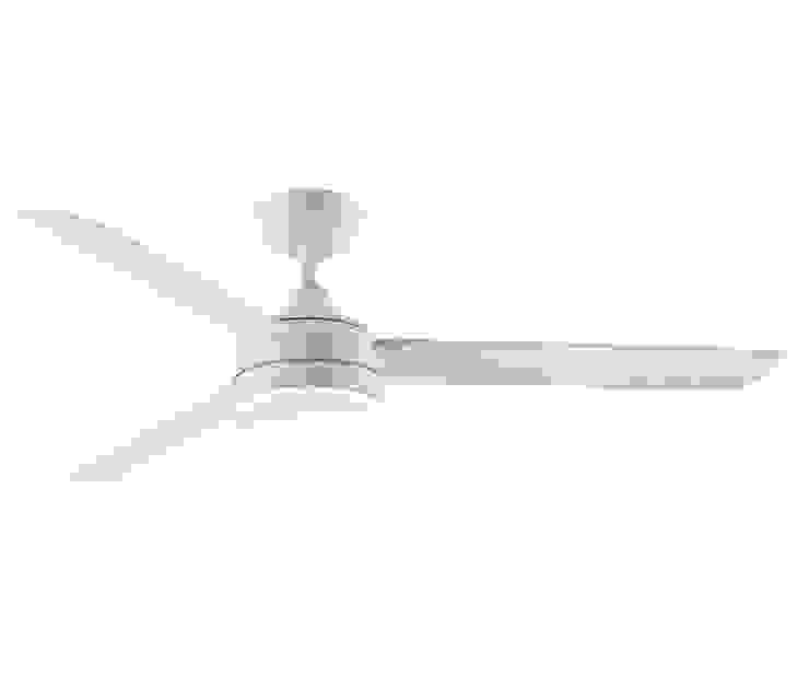 CASA BRUNO Xeno outdoor ventilador de techo Ø 142 cm con/sin luz, blanco mate, para zonas mojadas de Casa Bruno American Home Decor Minimalista