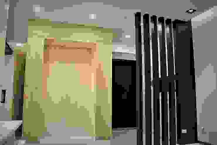 自然梧居 斯堪的納維亞風格的走廊,走廊和樓梯 根據 喬克諾空間設計 北歐風