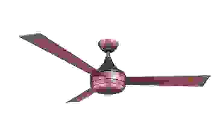 CASA BRUNO Donaire ventilador de techo con luz, bronce cepillado, para zonas mojadas de Casa Bruno American Home Decor Minimalista