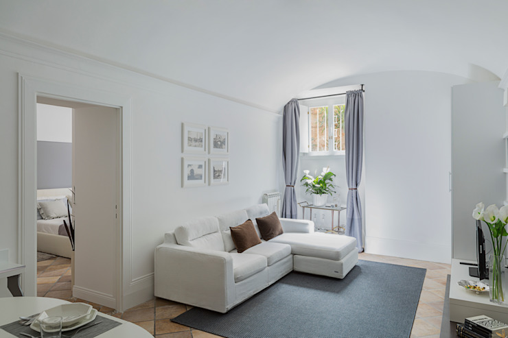 Moderne Wohnzimmer von a2 Studio Borgia - Romagnolo architetti Modern