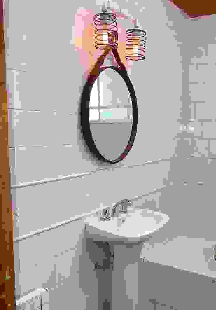 Lamparas Vintage Vieja Eddie BathroomLighting Iron/Steel White