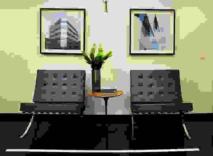 Enzo Sobocinski Arquitetura & Interiores Office buildings Granite Black