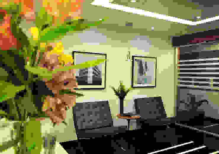 Enzo Sobocinski Arquitetura & Interiores Commercial Spaces Granite Black