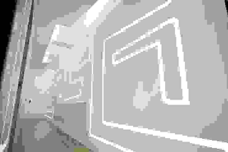 Modern walls & floors by 舍子美學設計有限公司 Modern