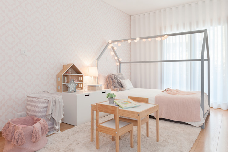 Girls Bedroom by This Little Room, Scandinavian