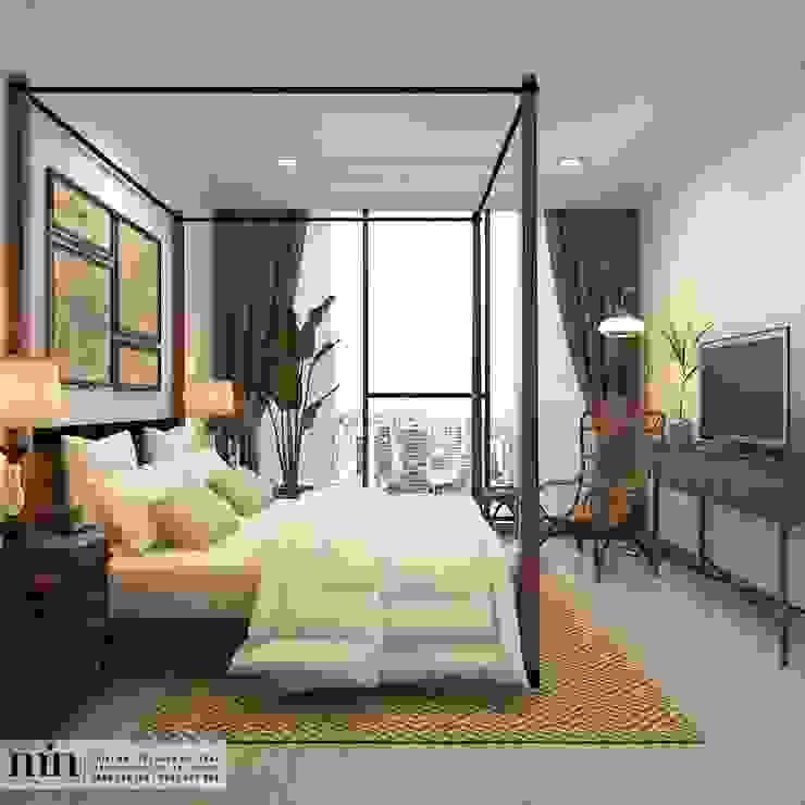 Chambre minimaliste par Min Decor Minimaliste