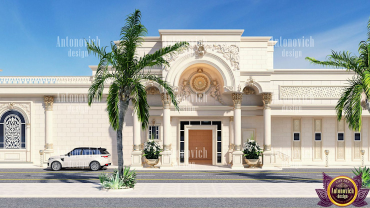 ​Architectural design solutions of Katrina Antonovich Classic style houses by Luxury Antonovich Design Classic
