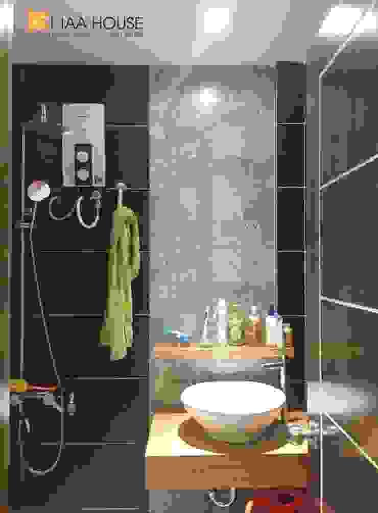 Căn hộ siêu tiết kiệm – Chung cư Ehome 2 Phòng tắm phong cách hiện đại bởi KTAA HOUSE Hiện đại