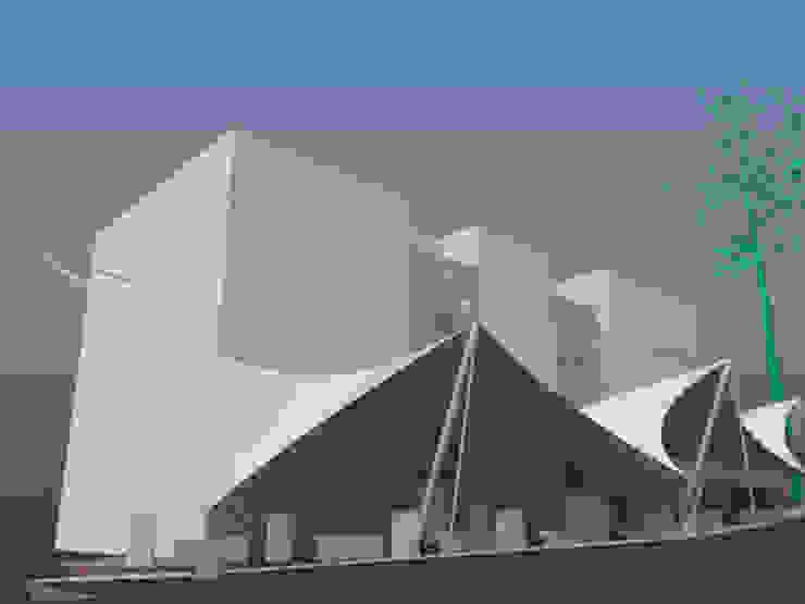 Propuestas de cubiertas textiles de doble curvatura para espacios abiertos de la Universidad Metropolitana JOSE RAFAEL FERERO ARQUITECTO