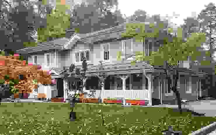 Дом Baroness 464: Дома с террасами в . Автор – LUMI POLAR,