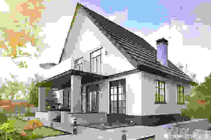 VİLLA | TINY HOUSE | KÜÇÜK EV Modern Evler Meteor Mimarlık & Tasarım Modern