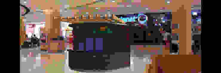 Arquitectura comercial para los locales de comida saludable CRUDO SABIDURÍA LÍQUIDA JOSE RAFAEL FERERO ARQUITECTO