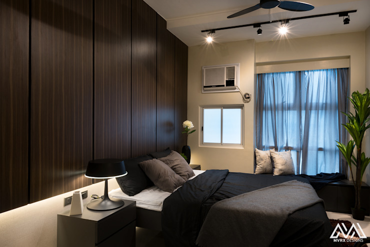 Modern Lux - Wil Tower QC MVRX Designs Modern style bedroom