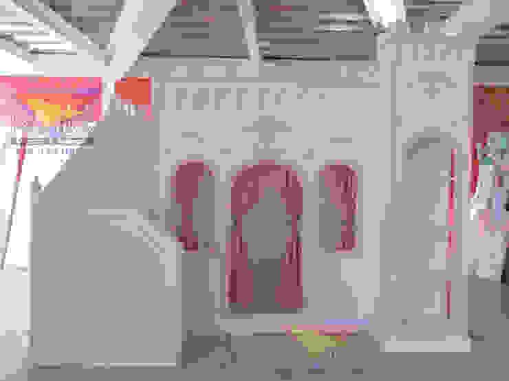 Divino castillo Opulento de camas y literas infantiles kids world Clásico Derivados de madera Transparente